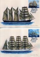 2020 Alands, Ships, Sailboats Mozart And Viking, 2 Maxi Cards - Ships
