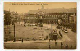 Liège - Palais De Justice Et Place Saint-Lambert (tramways) - Liege