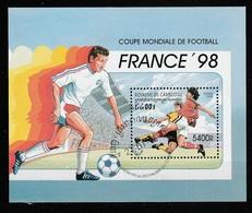 CAMBODGE   Coupe Du Monde De Football 1998   N° Y&T  BF135  (o) - Cambodge
