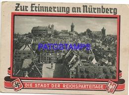 129723 GERMANY NÜRNBERG VIEW FROM THE SEBALDUS CHURCH TO THE CASTLE POSTAL POSTCARD - Non Classés