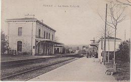 VINAY : La Gare P-L-M . - Vinay