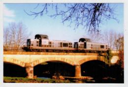 FRANCE  MAUBOURGUET     TRAIN- ZUG- TREIN- TRENI- GARE BAHNHOF- STATION- STAZIONI   2  SCAN  (NUOVA) - Trains