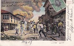 EQUATEUR(GUAYAQUIL) INCENDIE - Equateur