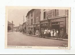 MAURECOURT (S ET O) CAFE TABACS RESTAURANT  WATRAIN  (BELLE ANIMATION) 1942 - Maurecourt