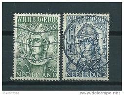 1939 Netherlands Complete Set Willibrord Used/gebruikt/oblitere - Oblitérés