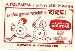 Buvard A L'OLYMPIA La Plus Grande Victoire Du Rire La Guerre Des Boutons - Cinéma & Théatre
