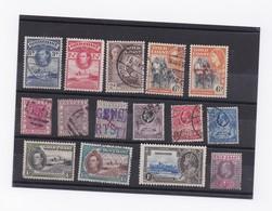 LOT DE TIMBRES DE COTE DE L'OR - Postzegels