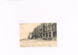 Wenduyne La Digue,la Lecture Balnéaire, Carte Postale Ancienne 1905 - Wenduine