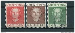 1950/52 Netherlands New Guinea Complete Set Queen Juliana Used/gebruikt/oblitere - Netherlands New Guinea