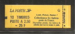 France, 2715-C6, Daté, Carnet Neuf, Non Ouvert, TTB,  Conf. 6, Albertville 92, Carnet Marianne De Briat - Usage Courant