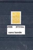 Variété De 2006 Neuf** Y&T N° 3731 Ac Sans Bande - Varieteiten: 2000-09 Postfris