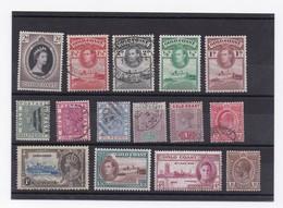 LOT DE TIMBRE DE COTE DE L'OR - Postzegels