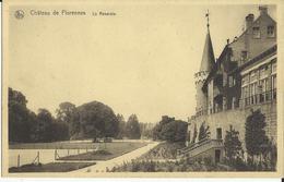 Château  De  Florennes -- La  Roseraie.    ( 2 Scans ) - Florennes