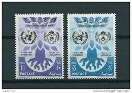 1960 Libia Complete Set Refugees Day MNH,Postfris,Neuf Sans Charniere - Libya