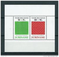 1987 Suriname Complete M/Sheet Child Welfare,kinderzegels MNH,Postfris,Neuf Sans Charniere - Suriname