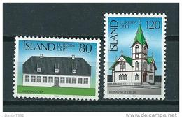 1978 Iceland Complete Set Europe,cept MNH,Postfris,Neuf Sans Charniere - Nuevos