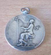 France - Médaille En Argent - 3e Prix Fanfare Des Usines De Belfort - Concours International De Musique Lyon Août 1894 - Professionnels / De Société