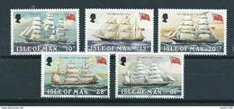 1984 Isle Of Man Complete Set Ships,boats MNH/Postfris/Neuf Sans Charniere - Isla De Man