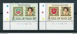 1984 Isle Of Man Complete Set CPA Conference MNH/Postfris/Neuf Sans Charniere - Isla De Man