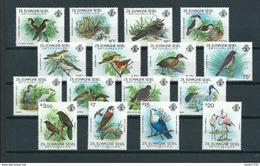 1983 Seychelles Zil Elwagne Sesel Complete Set Birds,oiseaux,vögel,vogels MNH/Postfris/Neuf Sans Charniere - Colecciones & Series