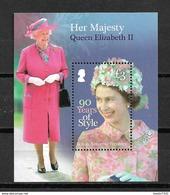 British Antarctic M/Sheet Territory Her Majesty Queen Elizabeth MNH/Postfris/Neuf Sans Charniere - Brits Antarctisch Territorium  (BAT)