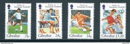 1996 Gibraltar Complete Set Voetbal,soccer,football MNH/Postfris/Neuf Sans Charniere - Gibraltar