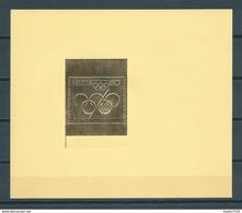 1996 Switzerland Goldprint Olympic Games MNH/Postfris/Neuf Sans Charniere - Suiza