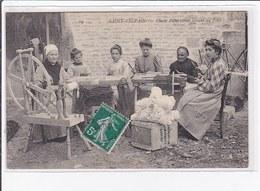 SAINT SYLVAIN : Classe D'ouvrieres Faisant Du Filet - Très Bon état - France