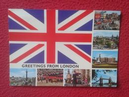 POSTAL POST CARD REINO UNIDO UNITED KINGDOM GREETINGS FROM LONDON LONDRES CARTE POSTALE VER FOTOS Y DESCRIPCIÓN THE CITY - Reino Unido