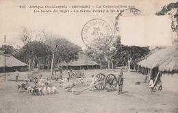 IRI-KIRI    HAUTE  GUINEE  Tam-Tam  La Colonisation Sur Les Bords Du Niger-La Ferme Poirey à Iri-Kiri    TB  PLAN 1908 - Guinée Française