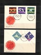Poland / Polska 1964 Olympic Games Tokyo FDC - Sommer 1964: Tokio
