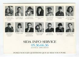 C.P °_ Asso-Sida Info Service ° NEUVE - Autres