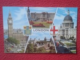 POSTAL POST CARD REINO UNIDO UNITED KINGDOM LONDON LONDRES CARTE POSTALE DIVERSAS VISTAS BIG BEN.........UK VER FOTOS... - Reino Unido