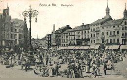 Bonn A Rh Markiplatz. Alemania Germany Deutschland Allemagne - Bonn