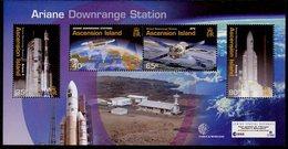Espace 2003 Ascension Bloc Feuillet Y&T N°BF48 - Michel N°B48 *** - Programme Ariane - Ascension (Ile De L')