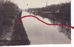 (59) - Douai Kanal    Photo Allemande 1° Guerre - Douai