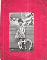 CPA COLORISEE FETE - BONNE ANNEE -  Portrait D'un Adorable Enfant  - BIS - - New Year