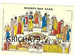 DEGRES DES AGES - IMAGERIE PELLERIN EPINAL - Autres