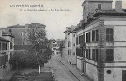 Saint Jean De Luz. La Rue Mazarin. - Saint Jean De Luz