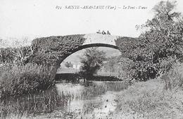 Sainte Anastasie. Le Pont Vieux. - France