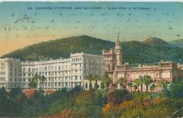Hyères 1933; San Salvador, Grand Hôtel Et Le Château - Voyagé. (LL) - Hyeres