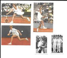 Y781 - IMAGES DIVERSES TENNIS - MAUREEN CONNOLLY - FENNY TEN BOSCH - VAN SWOL - WILLY AUSSEM - AUSTIN LANDMANN - Tennis