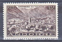Andorre 132 Andorre La Vieille Neuf * * TB MNH Sin Charnela Cote 17 - Neufs