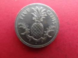 Bahamas  5 Cents  1975  Km 60 - Bahamas