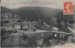 LAFENASSE ( Le Tarn ) Prés De REALMONT : Les Mines Et Les Bords Du Dadou (1910 ) - Other Municipalities
