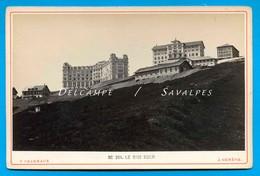 Suisse Lucerne * Rigi Kulm Hôtel * Photo Albumine Charnaux Vers 1875 - Voir Scans - Antiche (ante 1900)