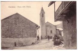 CLAVIERES - Piazza  Della Chiesa - Italie