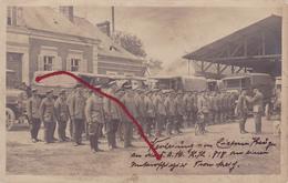 (59) - Marchiennes ???  Ausreichung Eiseren Kreuzes Carte Photo Allemande 1° Guerre - France