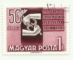 1969 - Ungheria 2042 Organizzazione Mondiale Del Lavoro - ILO