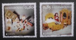 Luxemburg      Historisches Spielzeug    Europa Cept   2015  ** - 2015